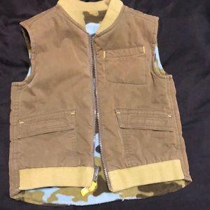 Boys Toddler Reversible vest